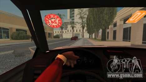 Karin Primo Police for GTA San Andreas back left view