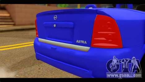 Opel Bertone Cabrio for GTA San Andreas back view