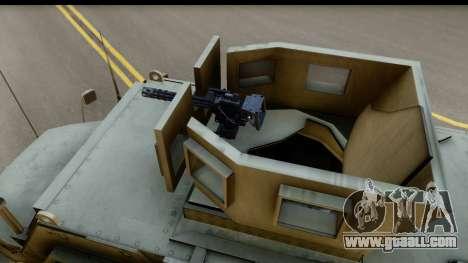 International MaxxPro MRAP for GTA San Andreas right view