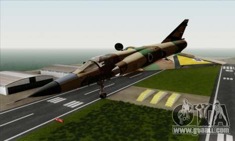 Dassault Mirage III AFI for GTA San Andreas