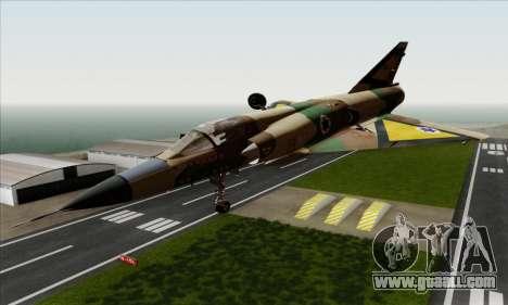 Dassault Mirage III AFI for GTA San Andreas