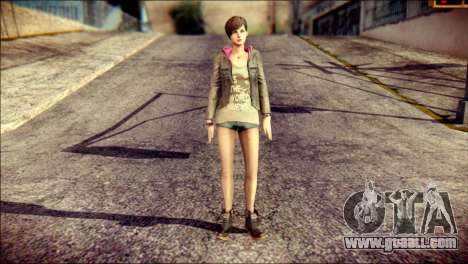 Moira Burton from Resident Evil for GTA San Andreas