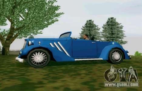 Hustler Cabriolet for GTA San Andreas left view