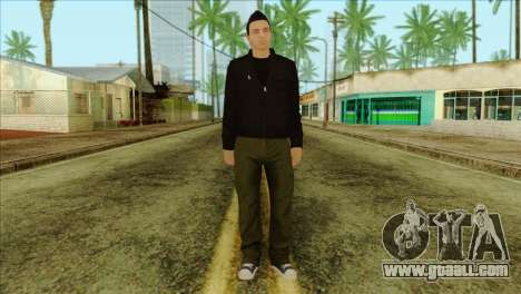 Claude from GTA 5 for GTA San Andreas