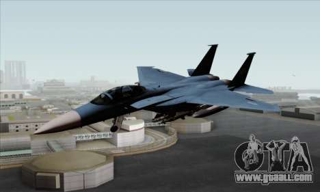 McDonnell Douglas F-15D Eagle GRDF for GTA San Andreas