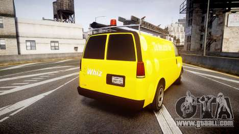 Vapid Speedo Whiz for GTA 4 back left view