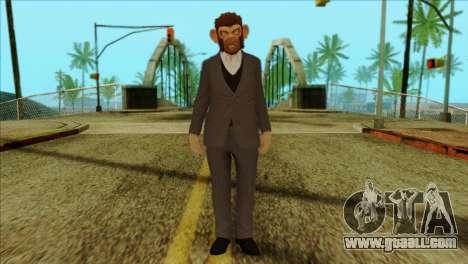 Skin from GTA 5 for GTA San Andreas