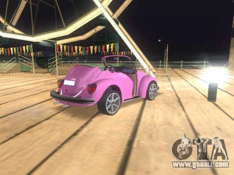 Volkswagen Beetle 1984 for GTA San Andreas engine