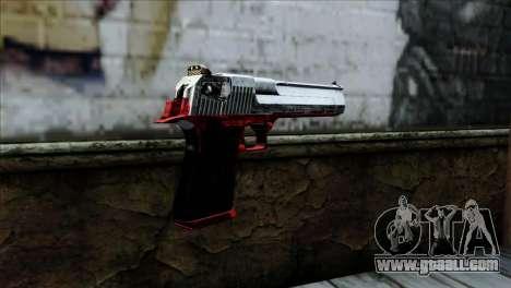 Desert Eagle Polonia for GTA San Andreas second screenshot