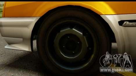 GTA 4 Blista Compact for GTA San Andreas back view