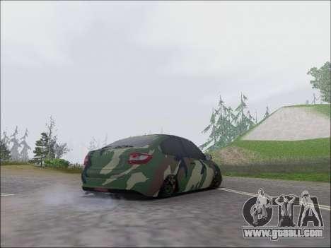 Lada Granta Liftback Coupe for GTA San Andreas right view