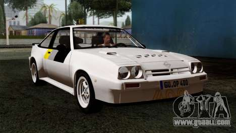 Opel Manta 400 v2 for GTA San Andreas