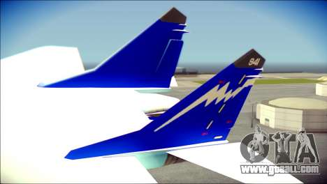 Mikoyan-Gurevich MIG-29K for GTA San Andreas back left view