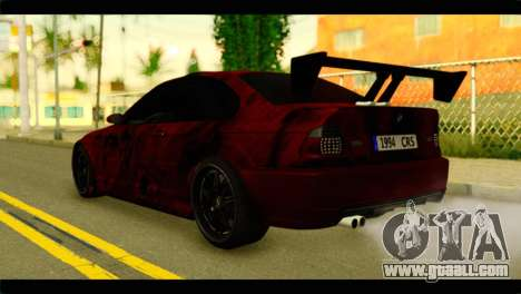 BMW 330 Tuning Red Dragon for GTA San Andreas left view
