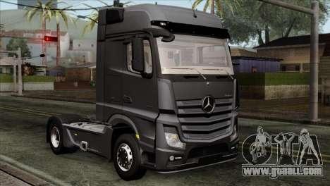 Mercedes-Benz Actros MP4 Euro 6 for GTA San Andreas