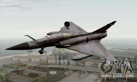 Dassault Mirage 2000-N SAM for GTA San Andreas