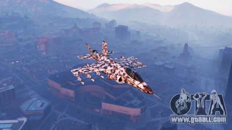 Hydra black & white camouflage for GTA 5