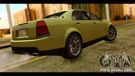 GTA 4 Presidente for GTA San Andreas left view