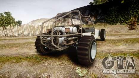 GTA V BF Dune Buggy for GTA 4 back left view