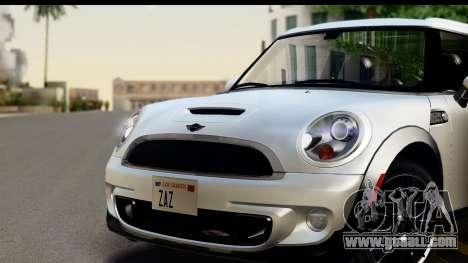 Mini Cooper Clubman 2011 for GTA San Andreas back left view