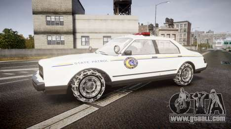 GTA V Albany Police Roadcruiser for GTA 4 left view