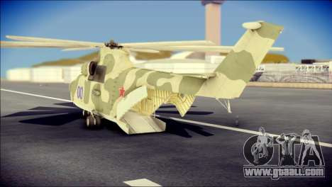 Mi-26 Halo for GTA San Andreas left view