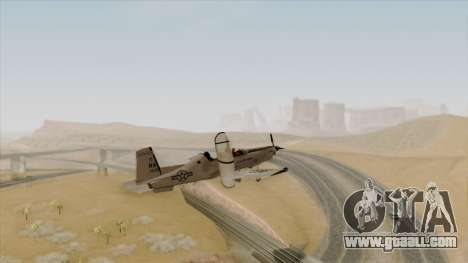 EMB T-6A Texan II US Navy for GTA San Andreas left view