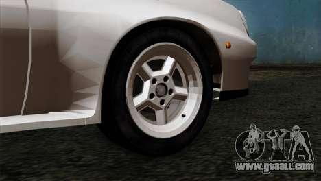 Opel Manta 400 v2 for GTA San Andreas back left view