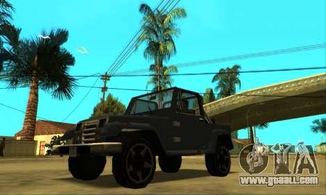 Mesa Final for GTA San Andreas bottom view