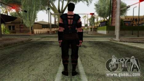 Sub-Zero Skin Mortal Kombat X for GTA San Andreas second screenshot