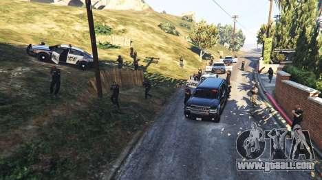 GTA 5 Hardcore Police Chasing third screenshot
