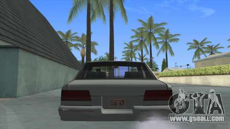 Premier Coupe for GTA San Andreas back left view