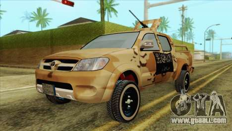 Toyota Hilux Siria Rebels for GTA San Andreas