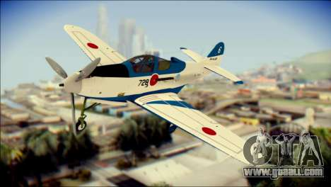 P-39N Airacobra JASDF Blue Impulse for GTA San Andreas