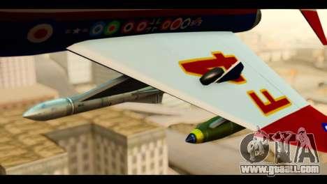 McDonnell Douglas F-4E Phantom II for GTA San Andreas right view