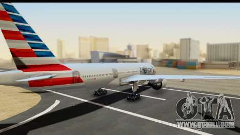 Boeing 777-200ER American Airlines for GTA San Andreas left view