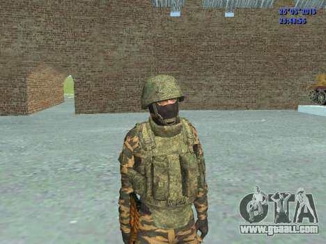 Fighter in mountain flora for GTA San Andreas second screenshot