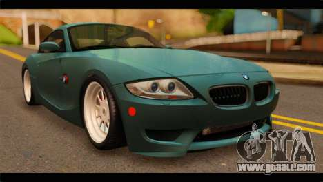 BMW Z4M Coupe for GTA San Andreas