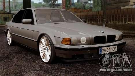 BMW 750iL E38 Romanian Edition for GTA San Andreas