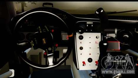 Porsche 911 GT3 RSR 2007 Flying Lizard for GTA San Andreas inner view