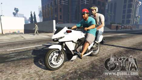 GTA 5 The passenger v0.1 second screenshot