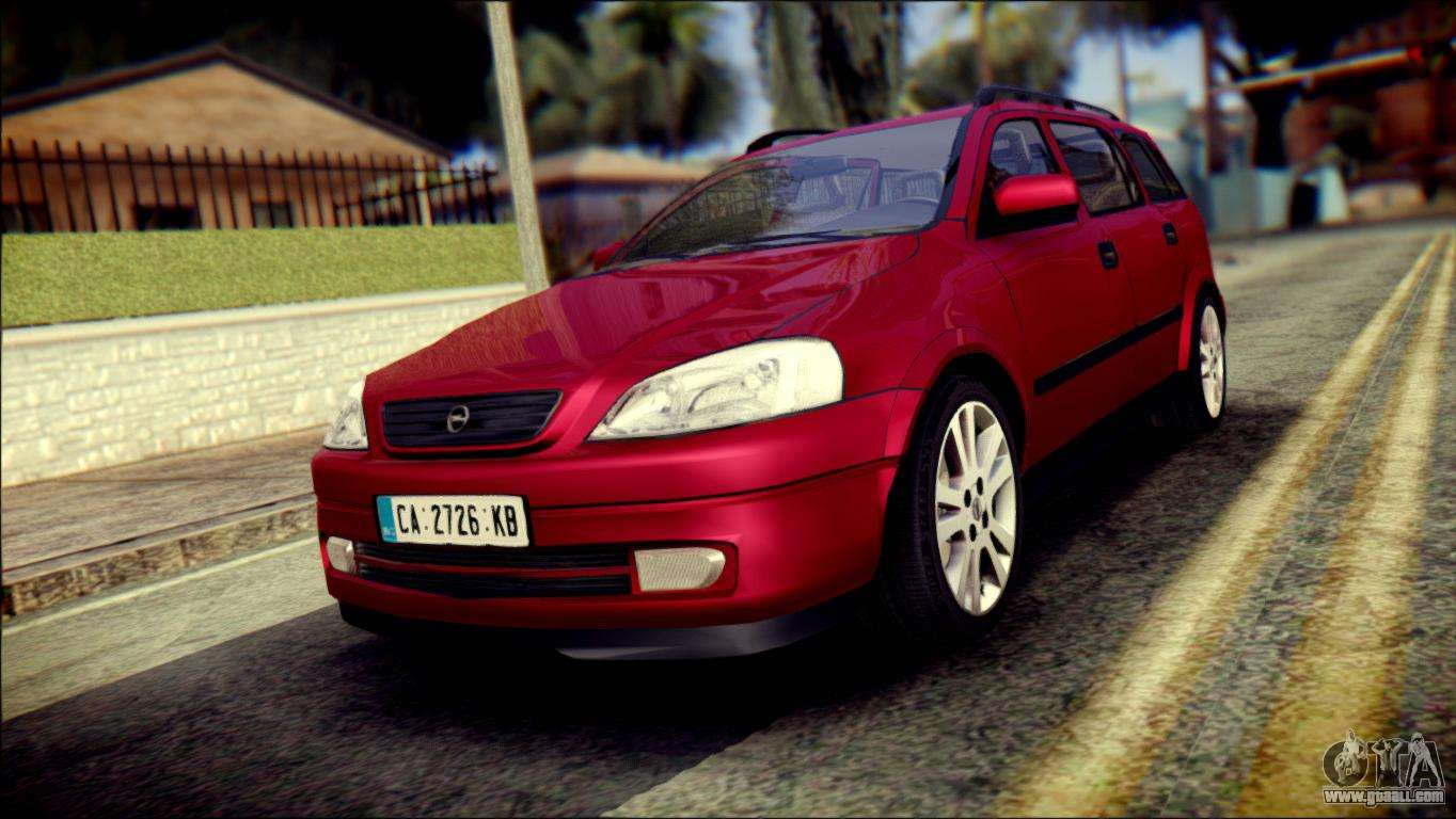 opel astra g caravan for gta san andreas. Black Bedroom Furniture Sets. Home Design Ideas