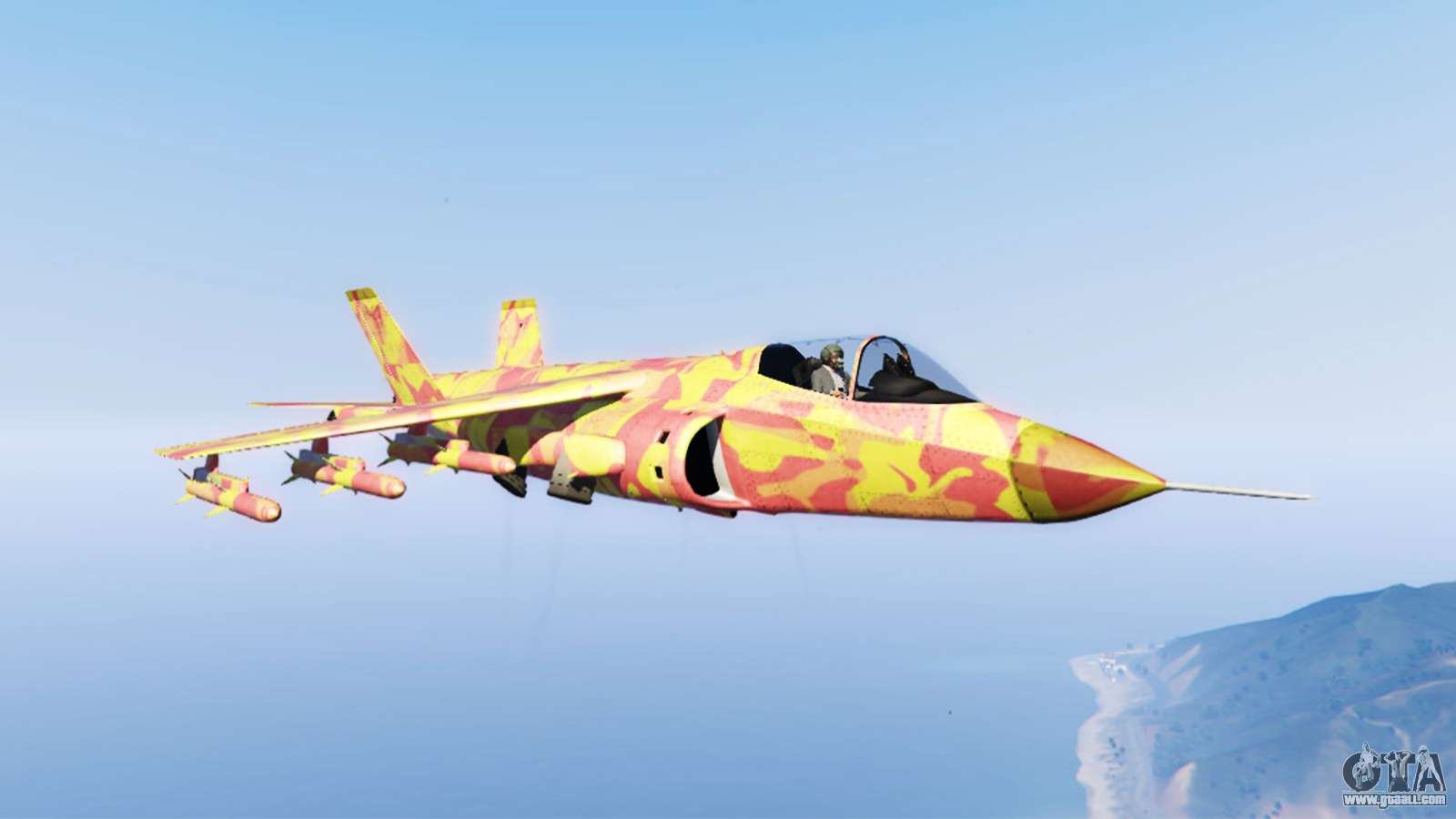 Hydra lava camouflage for GTA 5