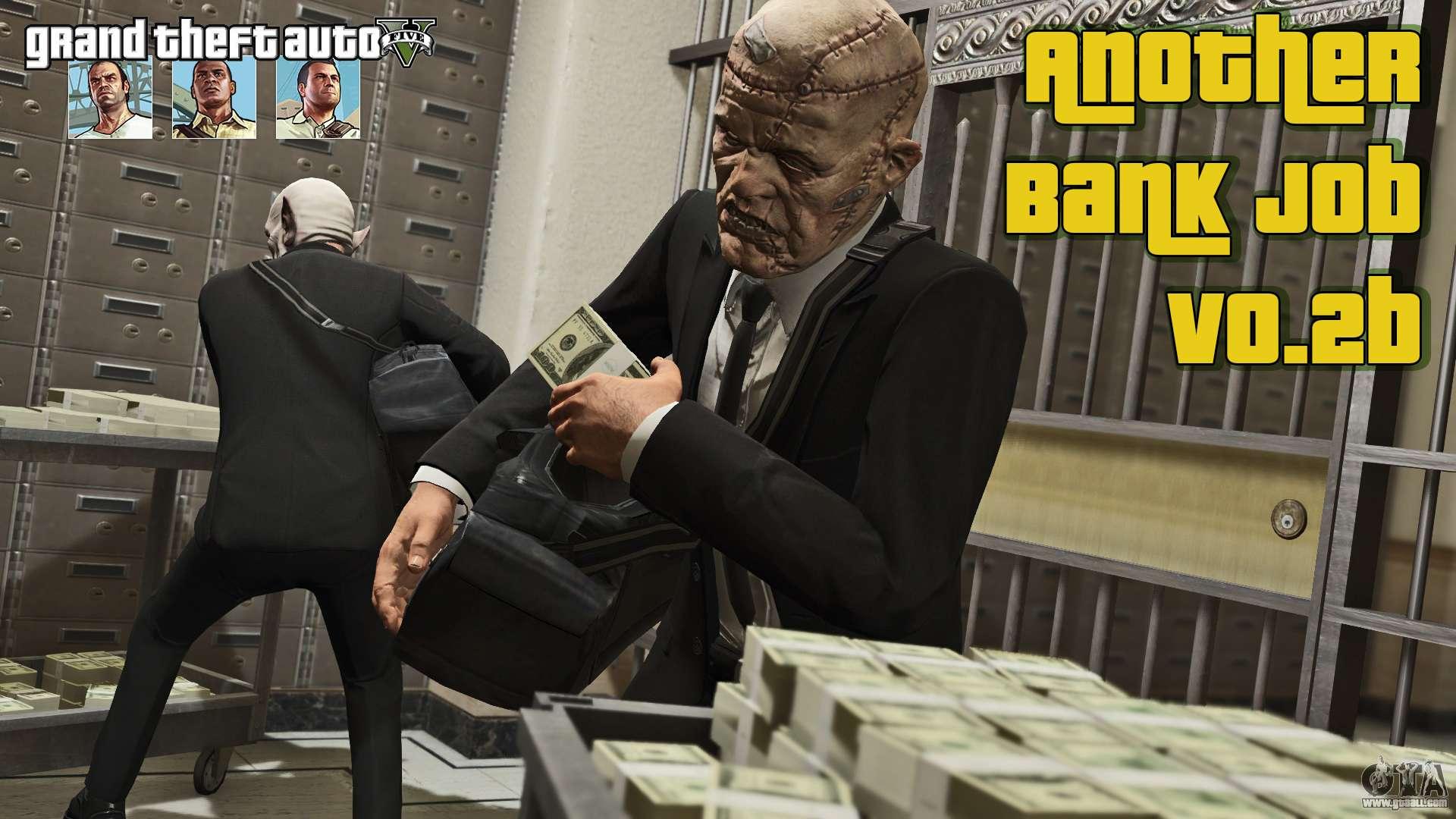 Bank Robbery V0 2b For Gta 5