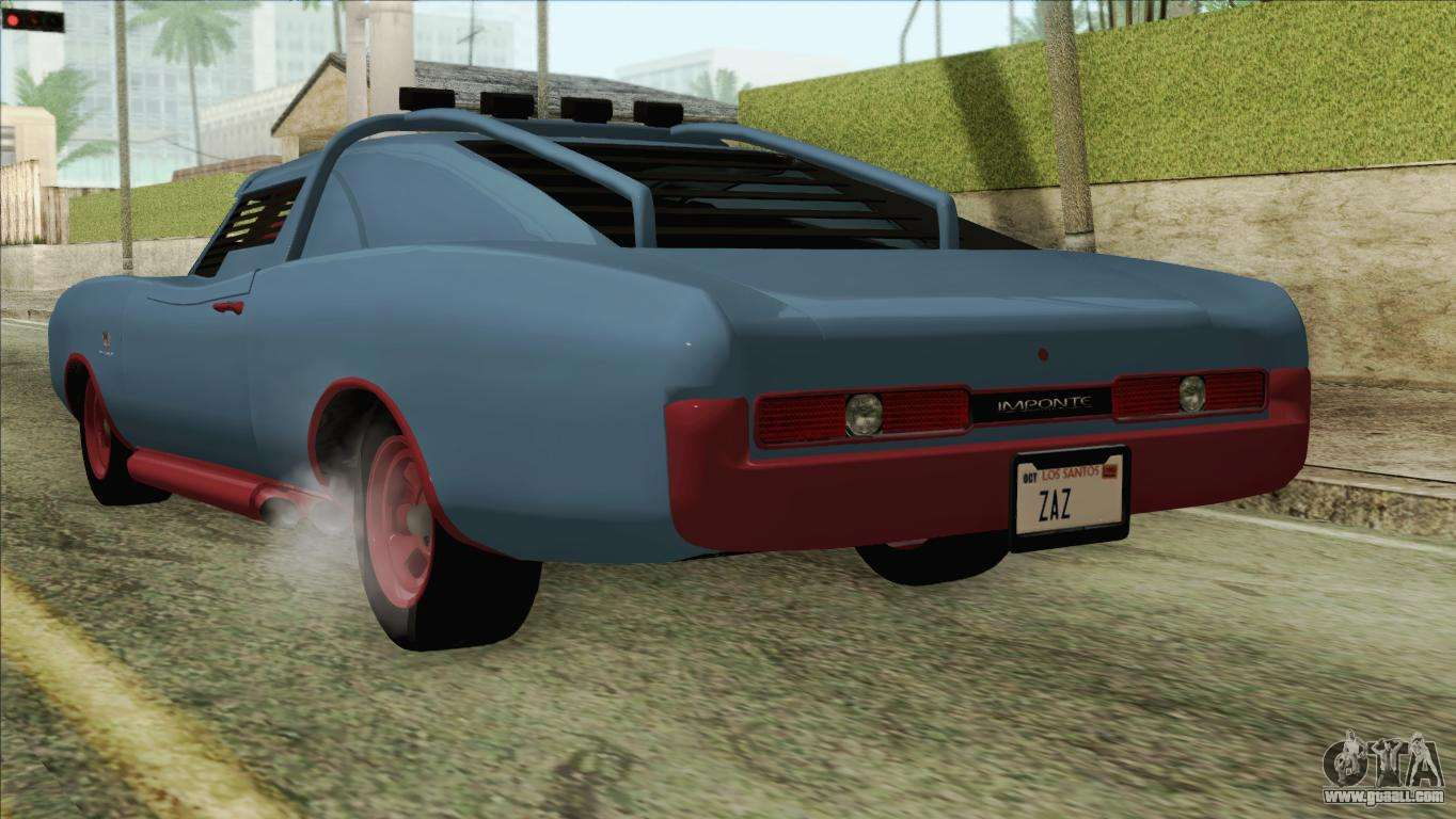 GTA 5 Imponte Dukes ODeath HQLM For San Andreas Left View