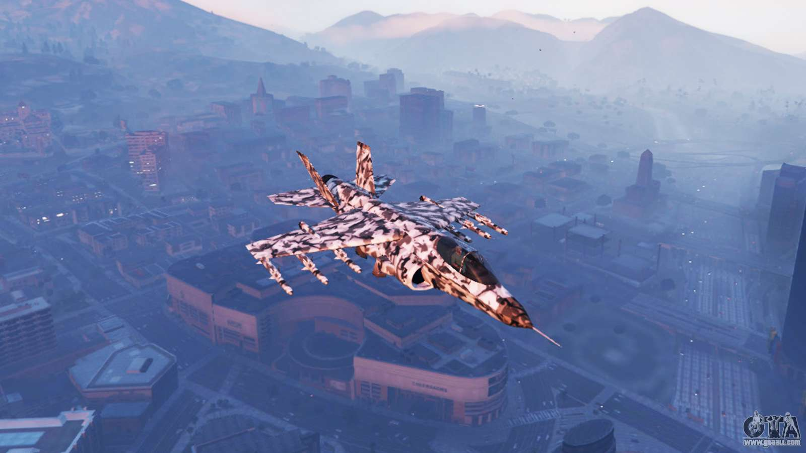 Hydra Black &amp White Camouflage For GTA 5