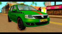 Dacia Logan Iranian Taxi for GTA San Andreas