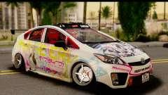 Toyota Prius Hybrid Eri Ayase Love Live Itasha for GTA San Andreas