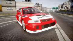 Mitsubishi Lancer Evolution VI 2000 Rally for GTA 4