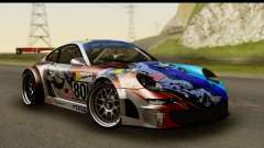 Porsche 911 GT3 RSR 2007 Flying Lizard